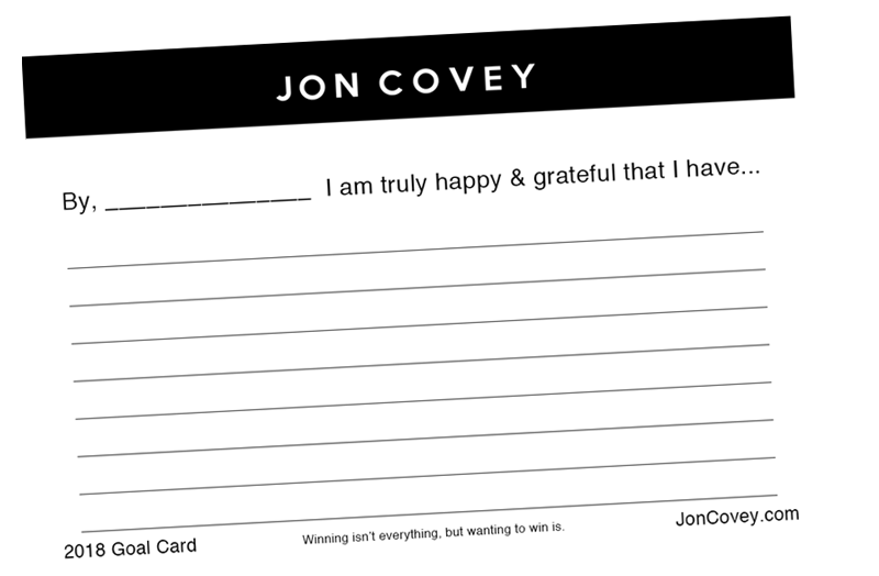 DOWNLOAD MY FREE GOAL CARD TEMPLATE – Life Coaching